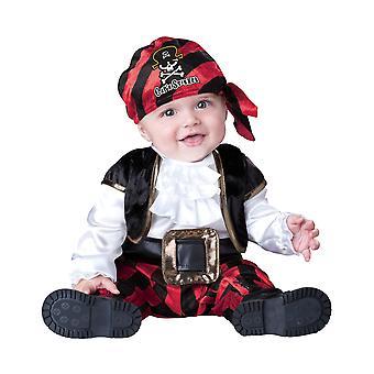 Kapitan Piratów gnojek Baby chłopcy niemowlę kostium