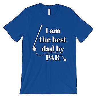 Paras isä Par Golf miesten musta paita