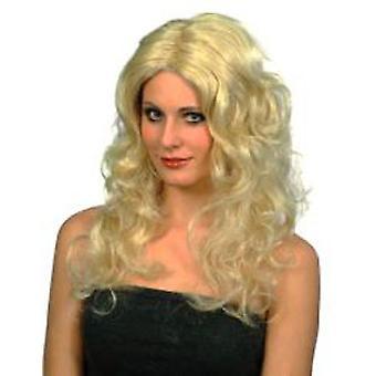 Glamour Perücke - Blonde lange locken (Anzahl 1)