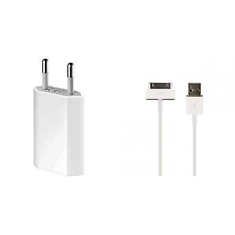 Original Apple MD813ZM USB power adapter A1400 bulk MA591G/C charger, iPhone 3 G 4 4 S, iPod, iPad