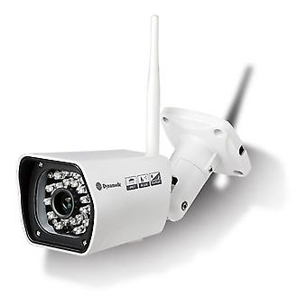 DYNAMODE Wireless Outdoor Bullet IP Camera WansView IP67 giorno e notte - Bianco