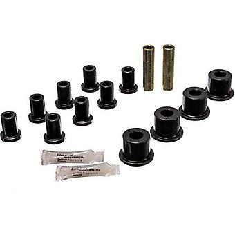 Energy Suspension 5.2105G Rear Spring And Shackle Bushing