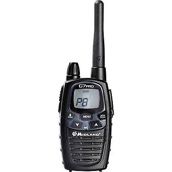 جهاز إرسال واستقبال محمول باليد من Midland G7 Pro C1090.14 LPD/PMR