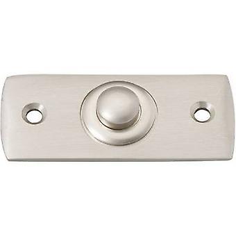 Heidemann 70409 Bell button 1x Nickel-coated 24 V/1 A