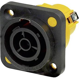 Neutrik NAC3FPX-ST Mains connector powerCON Series (mains connectors) powerCON Socket, vertical vertical Total number of pins: 2 + PE 16 A Black 1 pc(s)