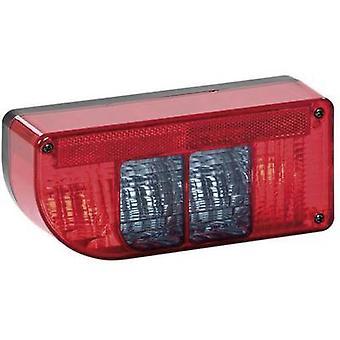 SecoRüt Trailer tail light Turn signal, Brake light, Rear fog lamp, Number plate light, Tail light rear, left 12 V Clear glass