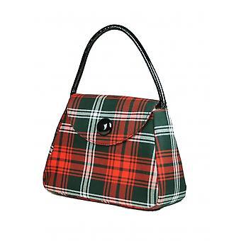 Harris Tweed or Tartan Handbag S (Prince of Wales Tartan)