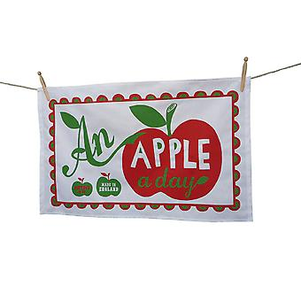 An Apple A Day Tea Towel