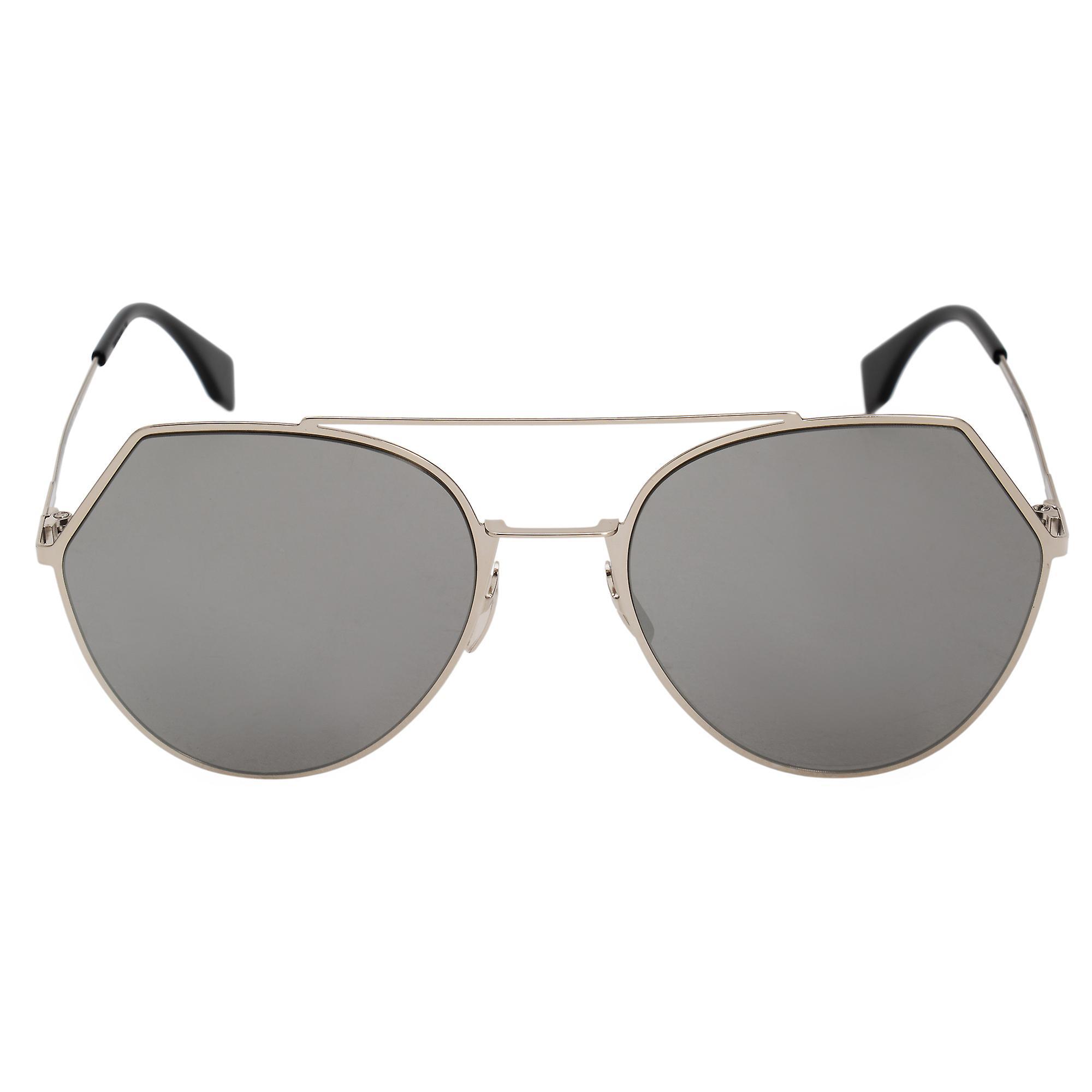 Fendi Eyeline Pilot Sunglasses FF0194S 3YG 0T 55