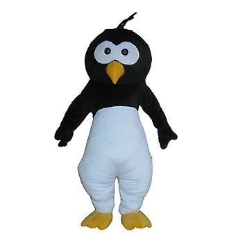 mascot SPOTSOUND of black, white and yellow from Penguin bird