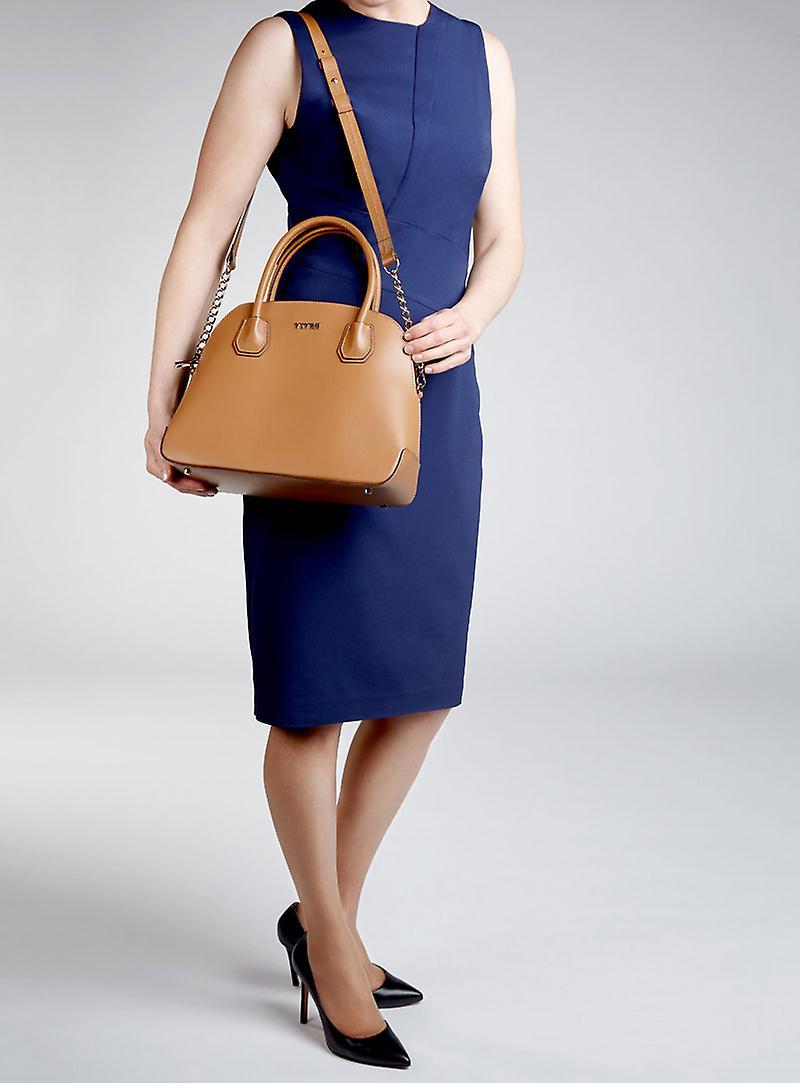 Viver Leola Tan Leather Womens Bag