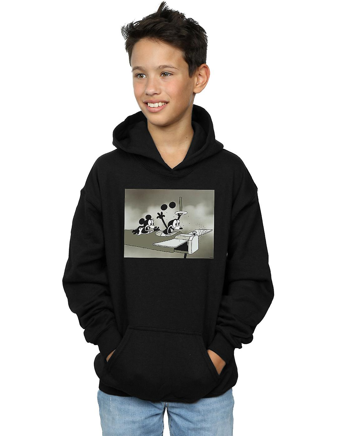 Disney Boys Mickey Mouse Crazy Pilot Hoodie