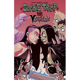 Zombie vs de Tramp Vampblade por Dan Mendoza - Winston Young - Jason Mart