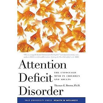 Aufmerksamkeits-Defizit-Störung - unkonzentriert Geistes bei Kindern und Erwachsenen