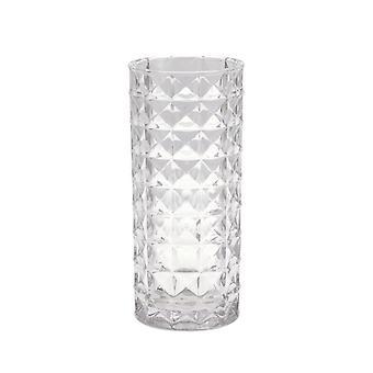Vase mønstret glass 30 cm