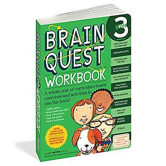 Brain Quest Grade 3 classeur [avec des autocollants]
