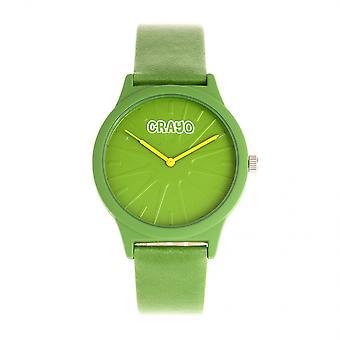Crayo Splat Unisex Watch - Green
