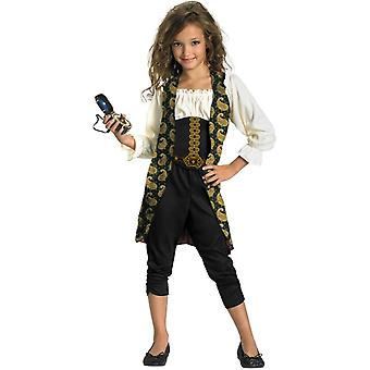 Pirates Of The Carribean Angelica Child Costume