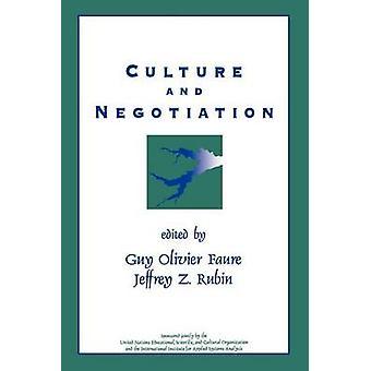 Cultura e negoziazione la risoluzione delle controversie di acqua da Faure & Guy Olivier