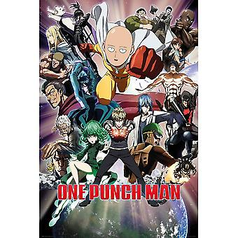 One Punch Man Anime Official Poster