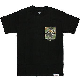 Diamond Supply Co Rainfrog Pocket T-Shirt Black