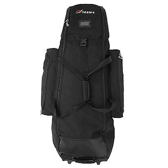 Big Max Xtreme Deluxe Golf Padded Wheeled Waterproof Travel Cover - Black