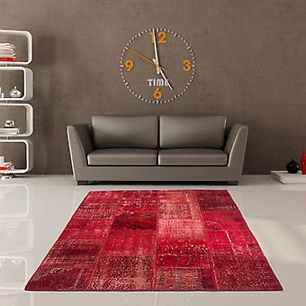 Teppiche - Wirrwarr Patchwork - 560 rot