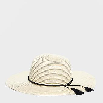 Ny One Earth-floppy hat til kvinder beige