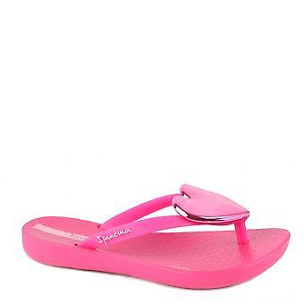 Ipanema Kid ' s Maxi Heart ljust rosa sandal