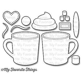 My Favorite Things Die-Namics Hot Cocoa Cups (MFT-803)