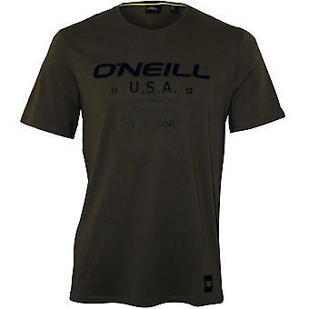O'Neill LM Dawson camiseta de cuello redondo, Moss de invierno