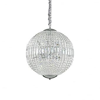 Ideal Lux Luxor 8 Bulb Pendant Light