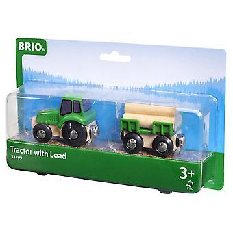 BRIO Traktor mit Last