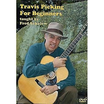 Fred Sokolow - Travis Pickingfor Beginners [DVD] USA import