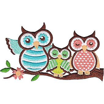 Patch - Animals - 3 Owls Iron On Gifts New Licensed p-4208