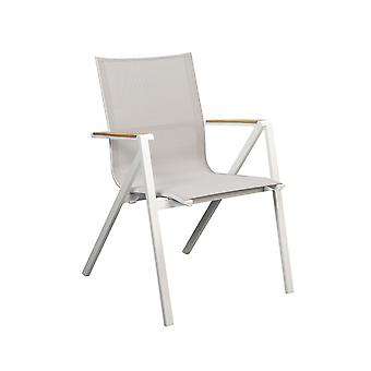 Plage7 - France Chaise de jardin en textile de Soho  White Mouse Grey - France