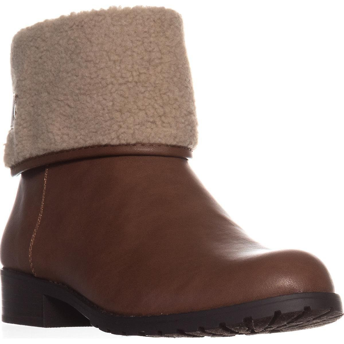 Style & Co. Damskie Beana Kostki Cold Weather Botki Brown 7.5 Medium (B,M) KlkkZ