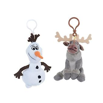 Frozen Plush Keyring (Olaf Or Sven, One Supplied)