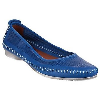Riva mujeres/señoras Brindisi Slip en zapato de cuero