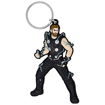 Thor Soft Touch Keychain