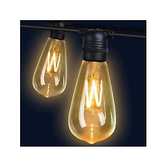 50M LED Festoon String Lights 50 bollen kits St64
