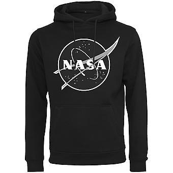 Merchcode Hoody - NASA Insignia black and white