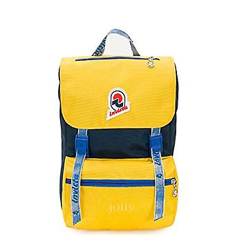 Invicta Backpack Jolly Vintage S Casual Backpack - 33 cm - 15 liters - Yellow