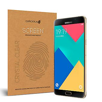 Celicious Vivid Invisible Glossy HD Screen Protector Film Compatible with Samsung Galaxy A9 Pro (2016) [Pack of 2]