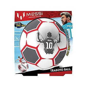 Messi Training System Pro Training Football Red and White Refresh Size 3
