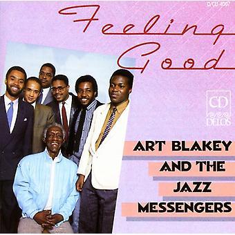 Art Blakey & Jazz Messengers - Feeling Good-Art Blakey & [CD] USA import