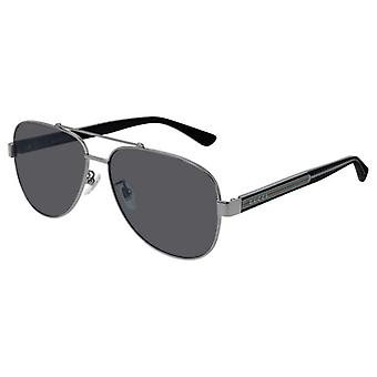 Gucci GG0528S Ruthenium/Polarized Grey Black