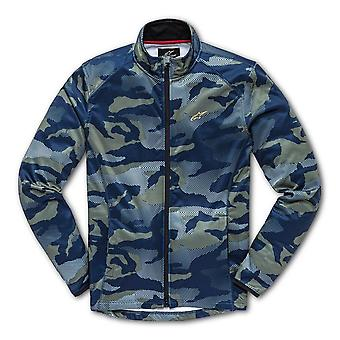 Alpinestars Purpose Mid Layer Jacket in Navy Camo