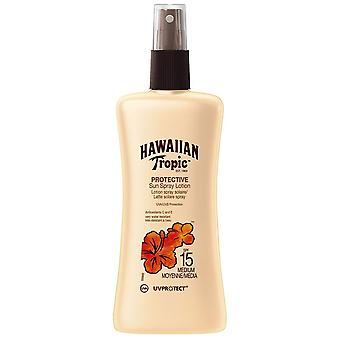 Hawaiian Tropic Satijnbeschermer Spray Lotion