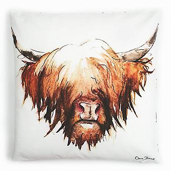 Clare Baird Highland Kollektion - Highland Kuh Kissen